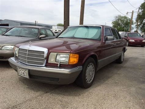 security system 1987 mercedes benz s class lane departure warning 1987 mercedes benz 420 class 420 sel 4dr sedan in mountain home id affordably priced cars llc