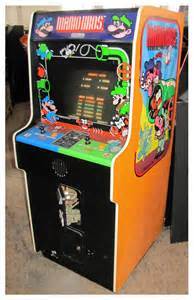 Arcade Cabinent by Mario Bros Arcade Cabinet The Arcade Is On