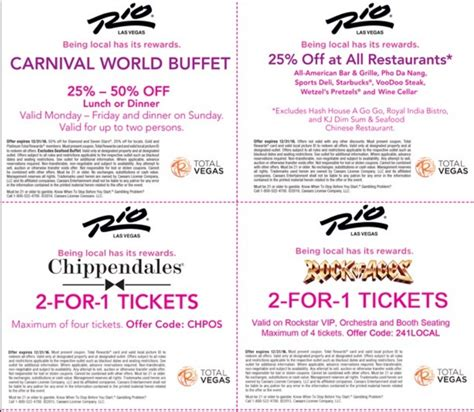 related keywords suggestions for las vegas rio coupons