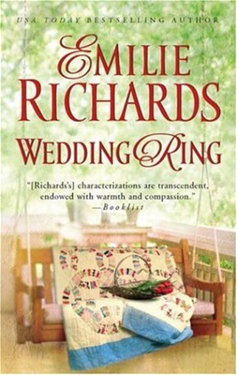 Book Review Wedding Ring By Emilie Richards wedding ring by emilie richards reviews discussion