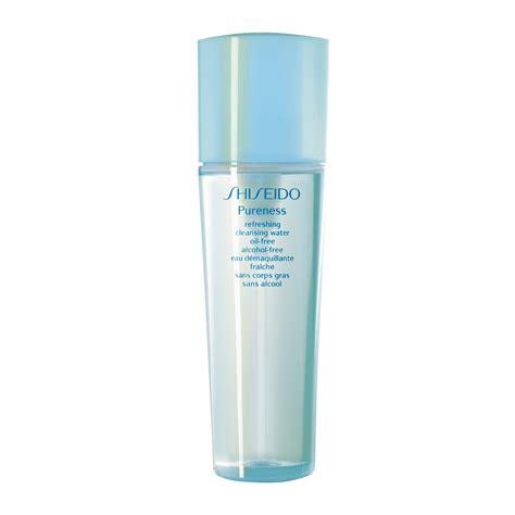 shiseido pureness refreshing cleansing water free