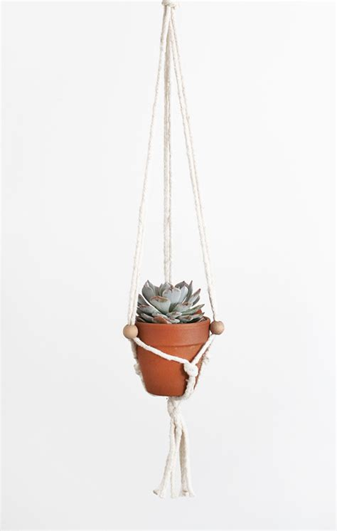 Diy Macrame Plant Hanger - diy macrame plant hangers almost makes