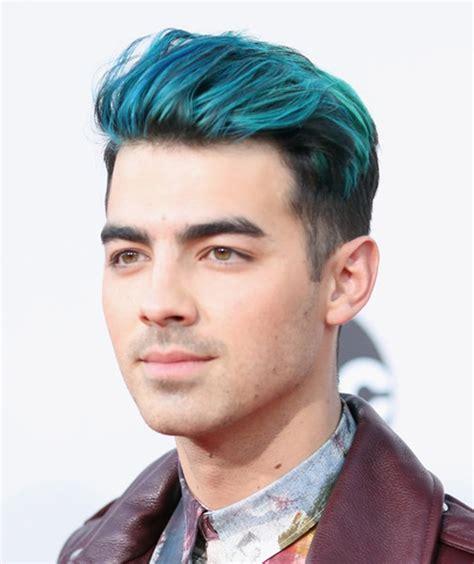 prediksi tren warna  model rambut pria