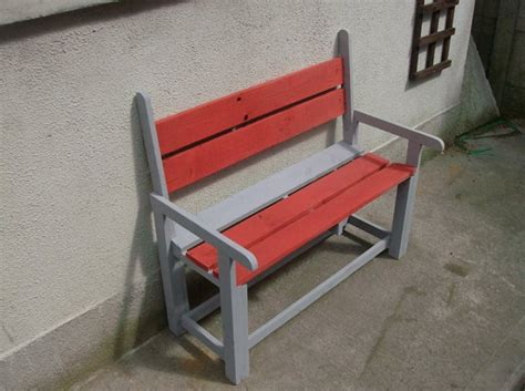 kid bench pallets kids colored bench pallet ideas recycled upcycled pallets furniture projects