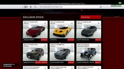 Car Types Gta 5 by List Of Car Types In Gta 5 Best Cars Modified Dur A Flex