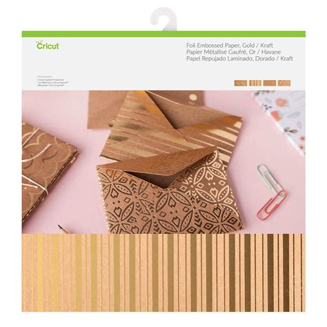 Foil Craft Paper - foil embossed paper gold kraft paper cutting materials