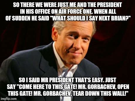 Air Force One Meme - brian williams brag imgflip
