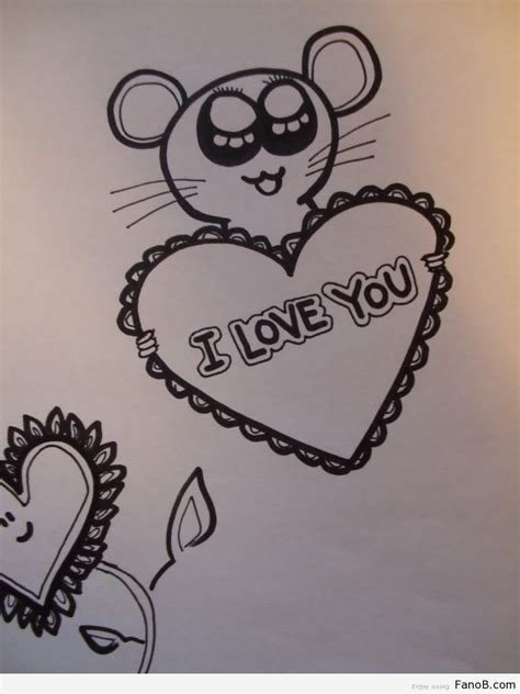cute things to draw for your boyfriend great drawing