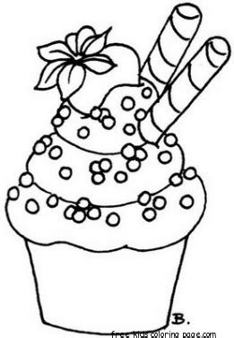 preschool coloring pages cupcakes printable cupcake coloring page preschoolfree printable