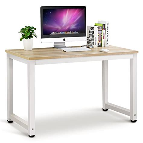 Desk That Is A Computer by Tribesigns Modern Simple Style Computer Pc Laptop Desk Study Table Workstation For Home Office