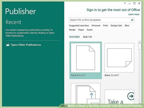 publisher weekly calendar template how to make a monthly calendar with microsoft publisher