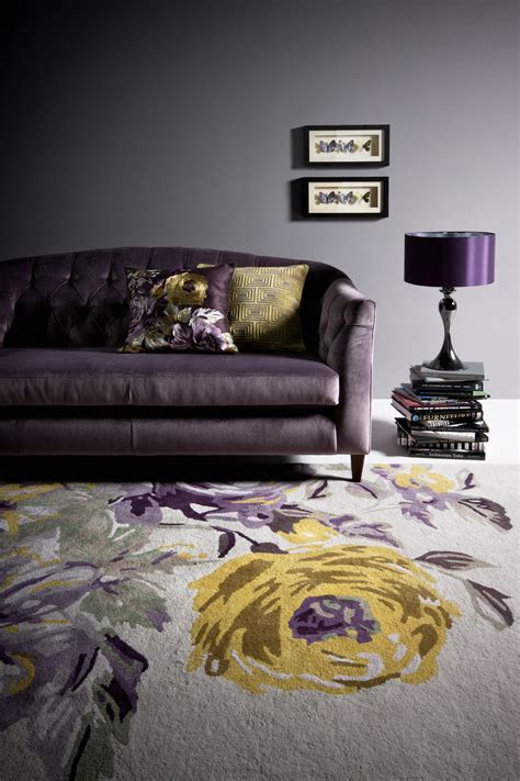 purple grey yellow bedroom marks and spencer home edit my friend s house