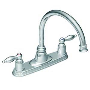 moen kitchen faucets home depot moen chrome two handle high arc kitchen faucet home