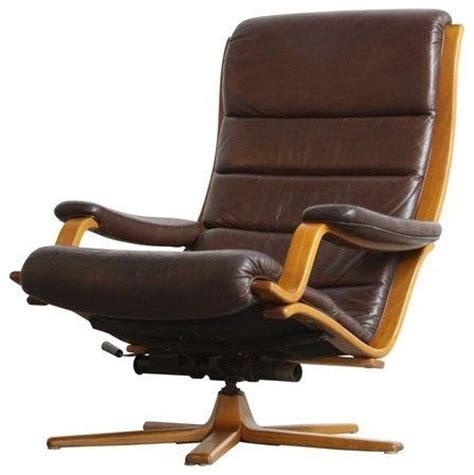 contemporary leather lounge chairs pre owned gote mobel mobler leather lounge chair