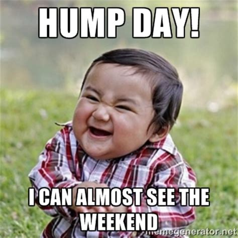 Funny Hump Day Memes - meme hump day i can almost see the weekend photo picsmine
