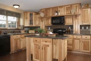 Unfinished Shaker Style Kitchen Cabinets Rustic Hickory Kitchen Cabinets Solid Wood Kitchen