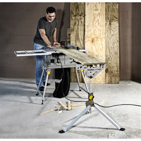 rockwell portable saw rockwell rk9033 jawhorse work support portable jawstand