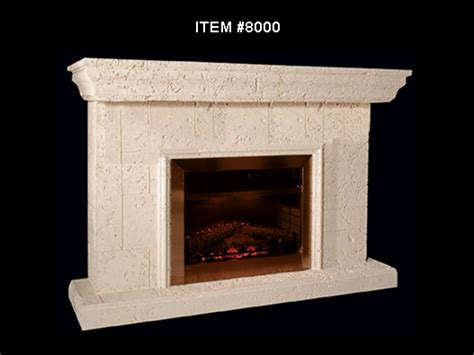Foam Fireplace by Fireplace With 8 Quot Mantle 8000