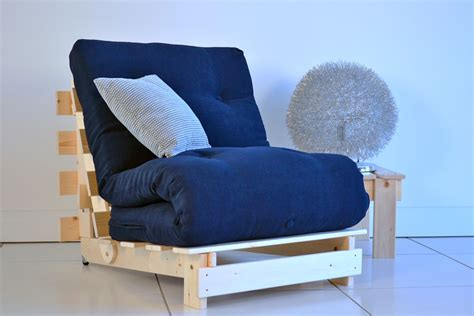 recliner bed chair navy blue futon cover home furniture design
