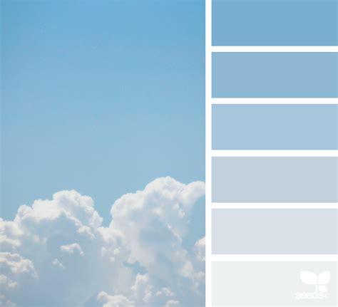 colors of the sky sky tones confident color inspiration and design seeds