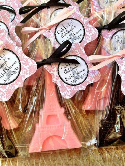 EIFFEL TOWER SOAPS (10 Favors)   Paris Themed Birthday