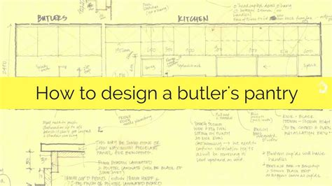 Pantry Sizes by How To Design A Butler S Pantry