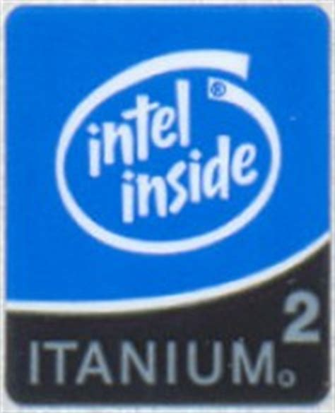 Sticker Stiker Logo Intel 2 Duo Original intel itanium 2