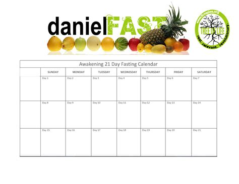 Free Downloadable House Plans by Daniel Fast 21 Days Of Fasting Amp Prayer Tree Of Life