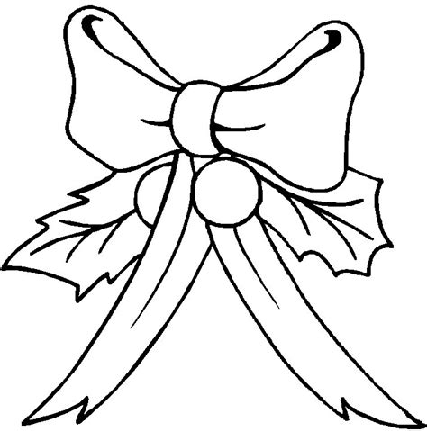 bow coloring pages free bows coloring pages