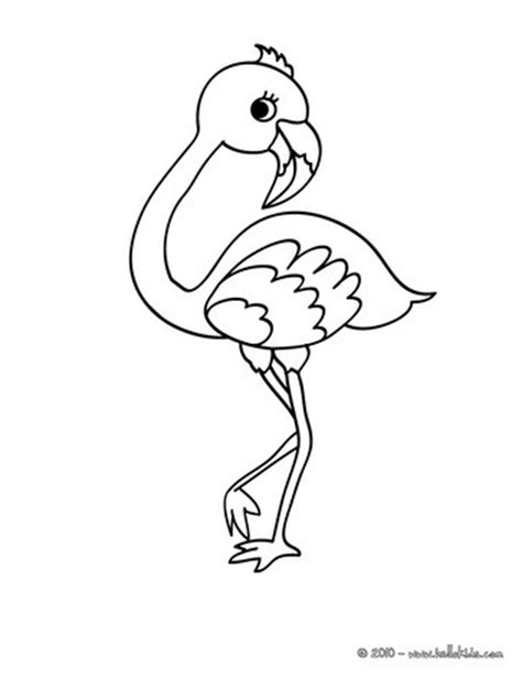 flamingo coloring page flamingo coloring pages hellokids
