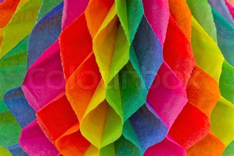 colorful paper colorful honeycomb paper stock photo colourbox