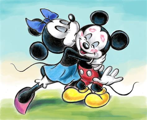 Mickey And Minnie L by Mickey And Minnie Mouse By Zdrer456 On Deviantart
