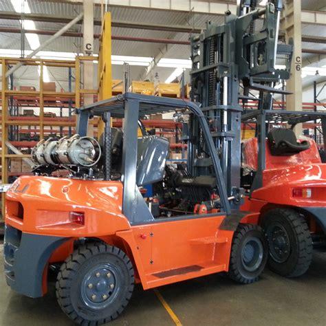 Heli 5ton Lpg Forklift Truck Forklift Gas Bottle Cpqd50