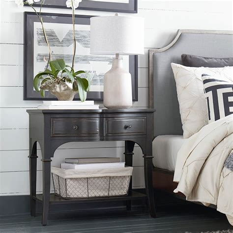 hgtv home design studio at bassett hgtv home design studio classics by bassett leg nightstand
