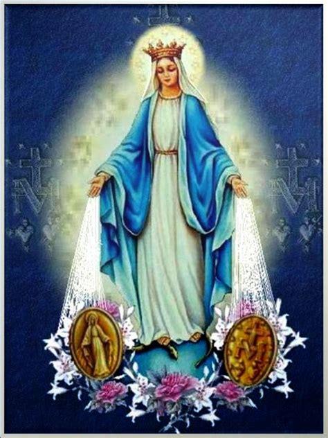 imagen virgen maria de la medalla milagrosa oraciones de los santos para peticiones virgen de la