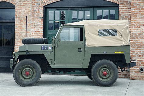 land rover vintage this vintage land rover was built to fly