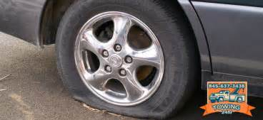 Car Tires Nearby How To Get Road Tow Service For Flat Tire Fix In Ny
