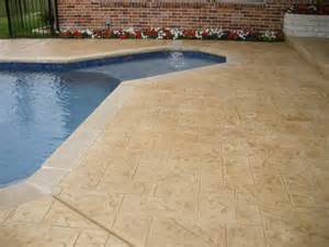 How To Overlay Concrete Patio Boss Resurfacing Stamped Concrete Overlays