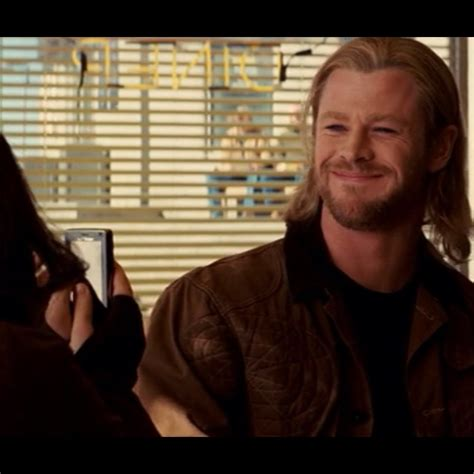 thor film quotes quot oh my god this is going on facebook smile quot thor