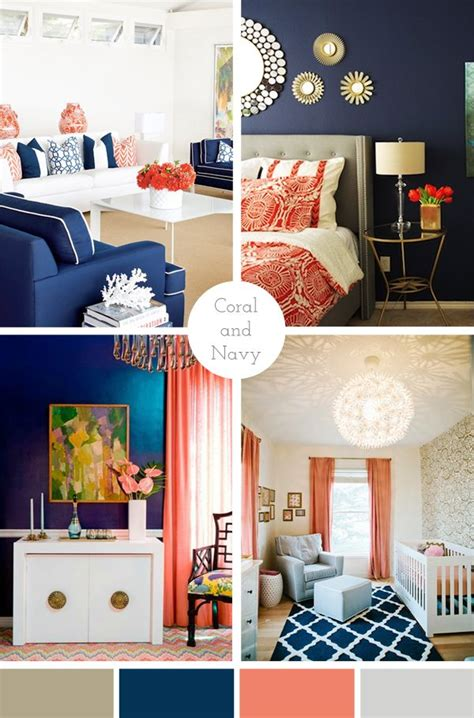 White House Gold Curtains by Best 25 Navy Coral Rooms Ideas On Pinterest