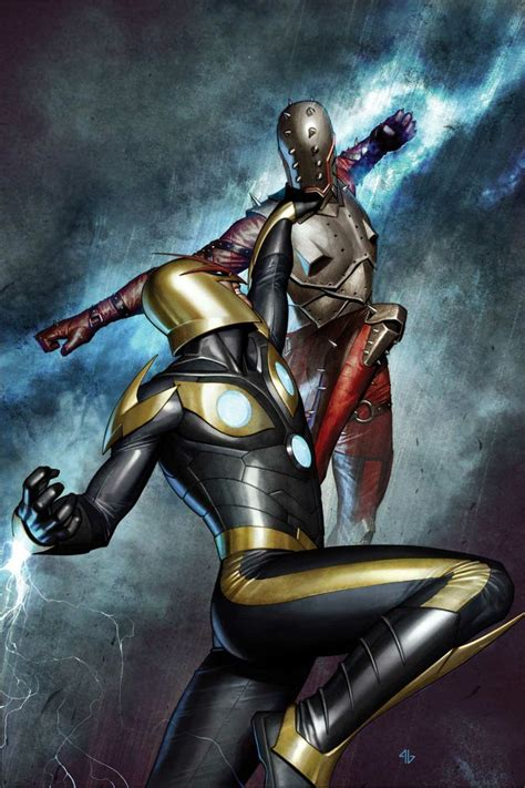 film marvel nova nova artwork from guardians of the galaxy by adi granov