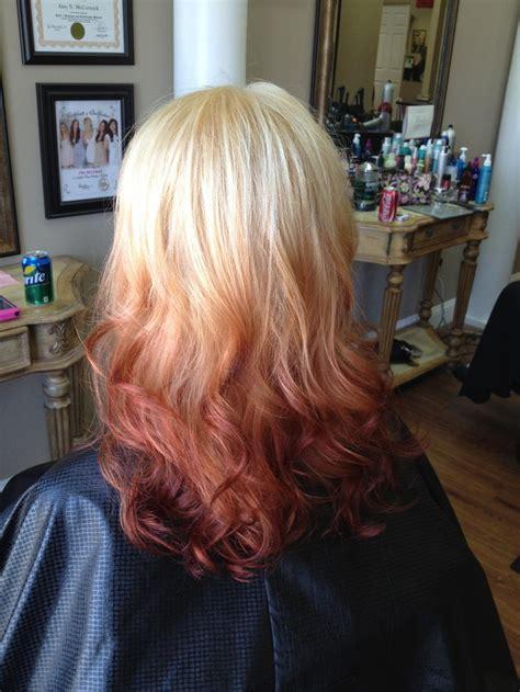 ambre hair fun ambre hair color hair beautiful hair colors ombre