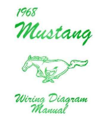 1968 Ford Mustang Wiring Diagrams