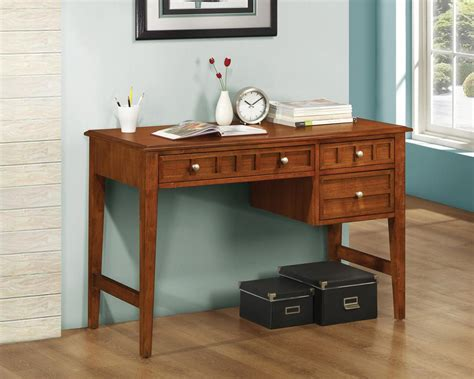 computer desk with drawers writing desk with drawers top anoka writing desk with
