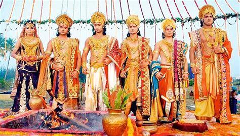 film mahabharata online draupadi s extravagant wedding boosts mahabharat in the tv