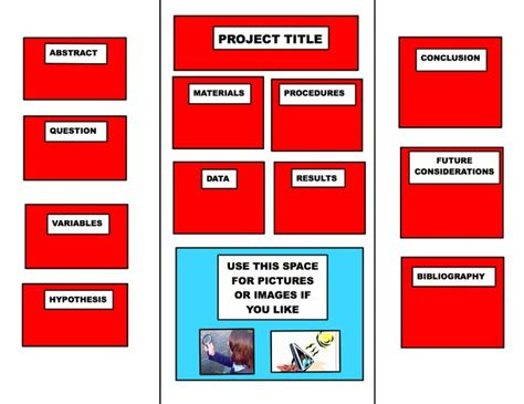 poster board template tri fold poster layouts files and assignments