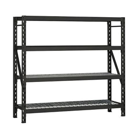 edsal heavy duty 4 level steel shelving sam s club