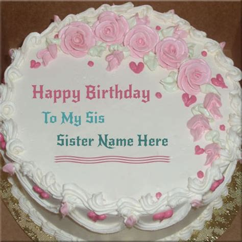 happy birthday cake for sister happy birthday