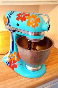 diy painted kitchenaid mixer there is a step by step