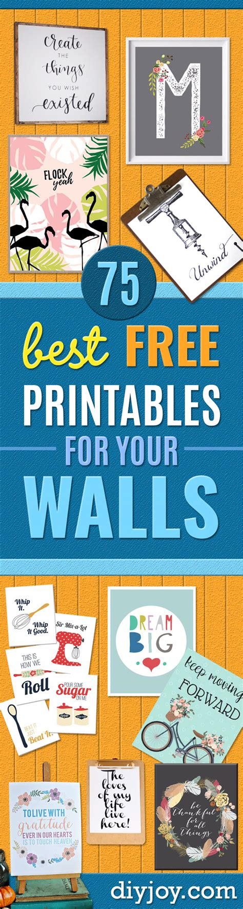 75 best free printables for your walls 75 best free printables for your walls